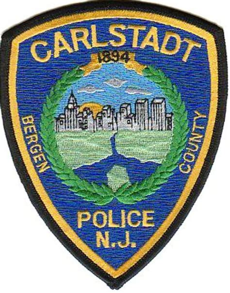 Patch Criminal Record Carlstadt Department The Carlstadt