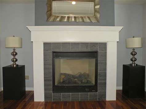 gas fireplace color gas fireplace with tile surround and wood mantel s pins paint colors