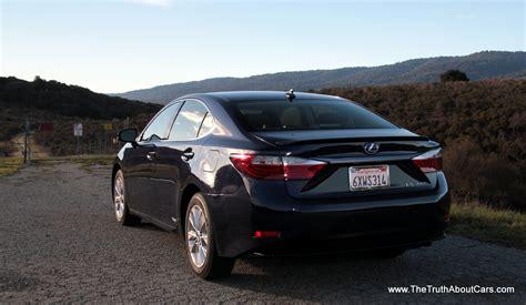 2013 lexus es 300h hybrid review 2013 lexus es 300h hybrid the about