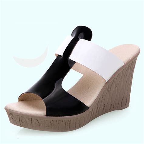 most comfortable wedge flip flops free shipping comfortable bohemian wedge women sandals for