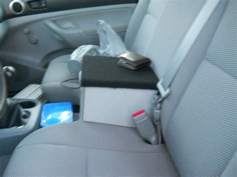 bench seat armrest console center console armrest for bench seat tacoma world