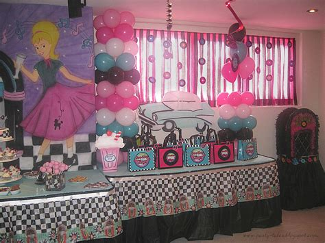 50s decor home tales birthday 50 s diner sock hop