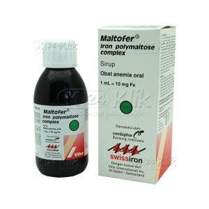 Suplemen Zat Besi Syrup jual beli maltofer syrup 150ml k24klik