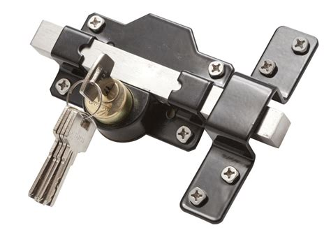 50mm 2 quot throw gate lock for garden gate key