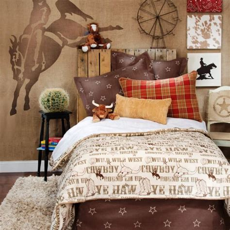 kids theme bedrooms 15 interesting cowboy themed kids bedroom rilane