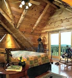 Log Homes Interiors by Adirondack Country Log Homes