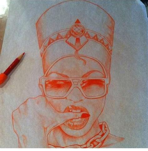 black queen tattoo dope nefertiti i this sketch