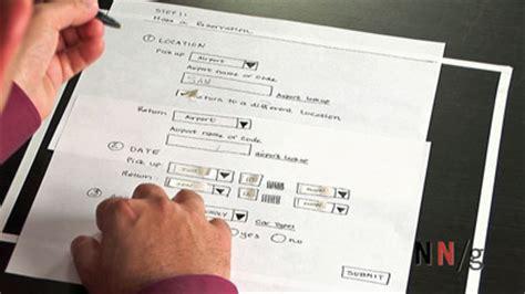 Blueprint Design Software paper prototyping training video nielsen norman group