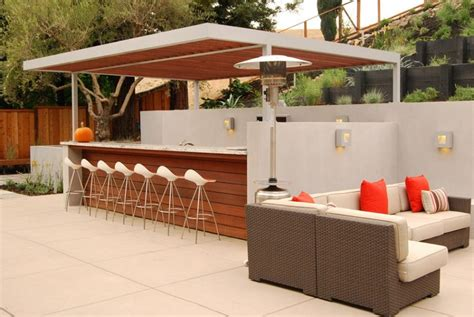 Patio Bar Designs 20 Modern Outdoor Bar Ideas To Entertain With