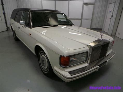rolls royce silver spur 1991 rolls royce silver spur ii hearse hearse for sale