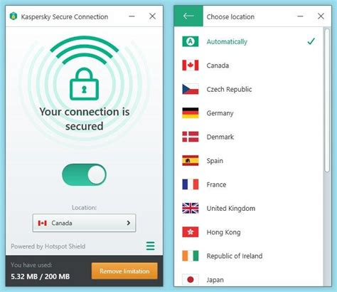 kaspersky secure connection kaspersky security 2017 review rating pcmag
