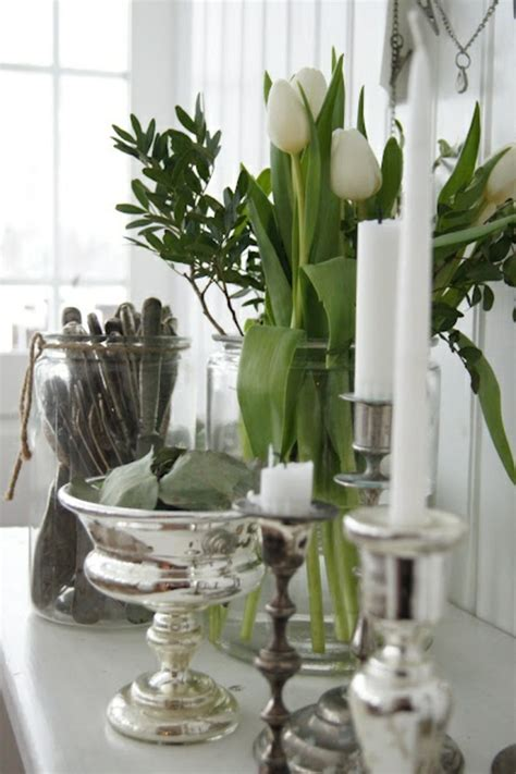 Centerpieces For Dining Room Tables Tischdeko Mit Tulpen Festliche Tischdeko Ideen Mit