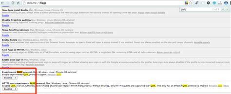 Chrome Quic   访问google的神器 chrome experimental quic protocol 隽永东方