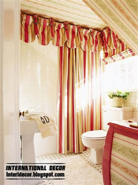 red bathroom window curtains create beautiful bathroom window simple ideas and steps