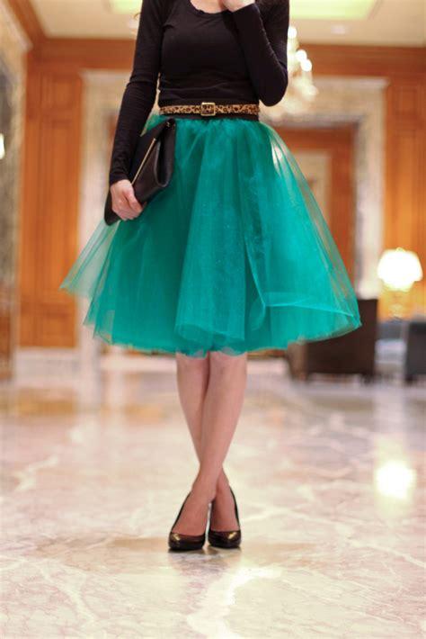 Tulle Skirt make it elastic waistband skirt the