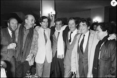 jean pierre marielle belmondo jean paul belmondo avec ses amis de la promotion 1951 du