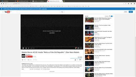youtube layout error firefox yt won t work after the ubuntu upgrade ask ubuntu