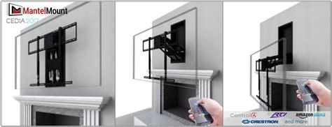 fireplace tv mount moves    amazon