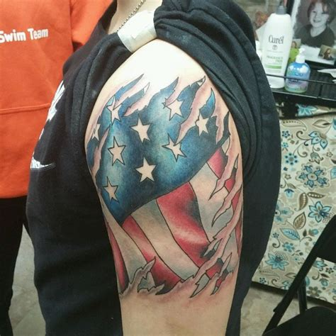 american flag forearm tattoo 50 independent patriotic american flag tattoos i usa