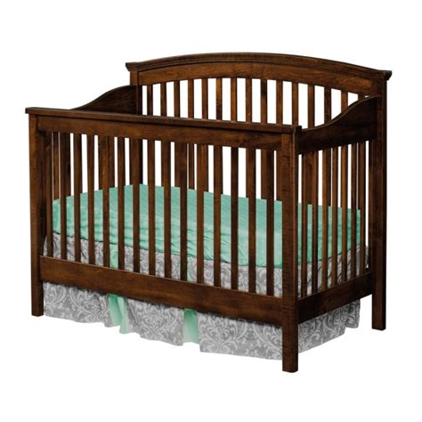 Formaldehyde Free Cribs by Hton Convertible Crib Amish Made Modern Crib