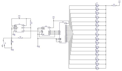 layout rangkaian running led rangkaian lu led 2 yusuf blog