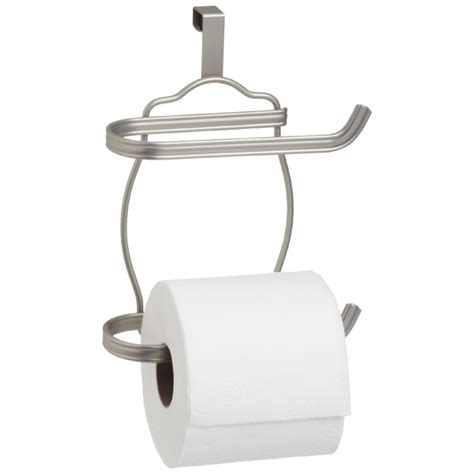 bathroom tissue holder interdesign york the tank bath tissue holder the
