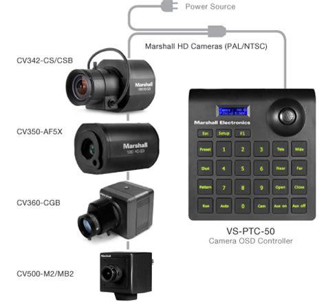 marshall electronics camera ptz mini joystick controller