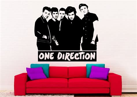 one direction wall sticker one direction wallpaper official 1d wall murals auto design tech