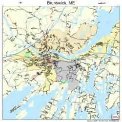 brunswick map brunswick maine map 2308395