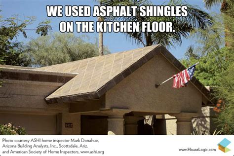 Design House Inc Houston Tx by Funny Fail We Used Asphalt Shingles On The Kitchen Floor