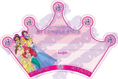 invitaci n de bautizo de princesa para imprimir invitaci 243 nes de princesas para imprimir gratis imagui