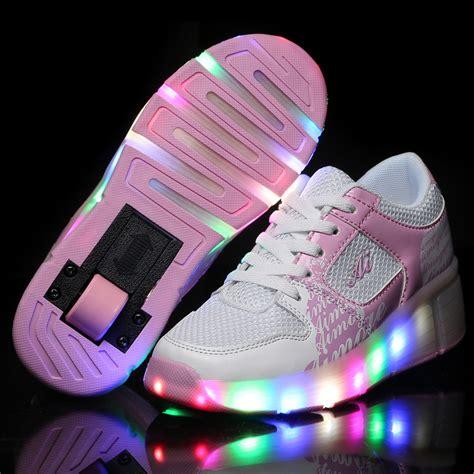 Sepatu Led Shoes Junior aliexpress buy new 2016 child wheely s jazzy led