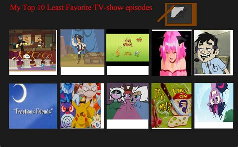 7 Ofmy Favorite Tv Shows by Top 10 Least Favorite Tv Show Episodes My Way By