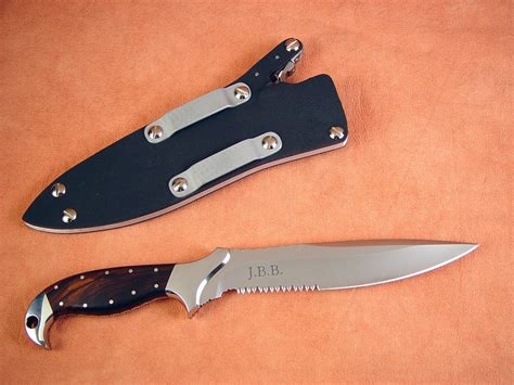 Handmade Tactical Knives - quot kapteyn quot handmade custom tactical combat knife by