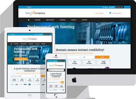 whmcs html template responsive whmcs theme prosper is a premium whmcs
