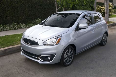 mitsubishi mirage silver 2018 mitsubishi mirage silver color drivers side wide