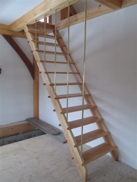 Houses For Narrow Lots maple amp cherry ships ladder stair