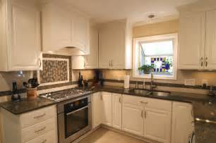 White Cabinets Granite Countertops Kitchen Beautiful White Kitchen Cabinets With Granite Countertops Mykitcheninterior