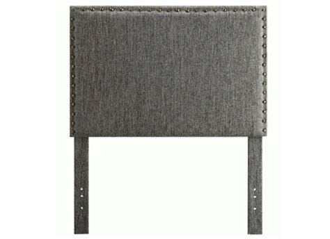 grey single headboard lina headboard single grey