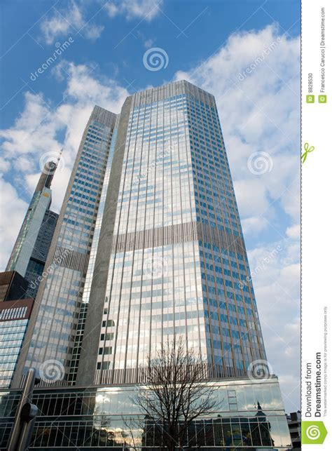 bank in frankfurt european central bank frankfurt germany stock photo