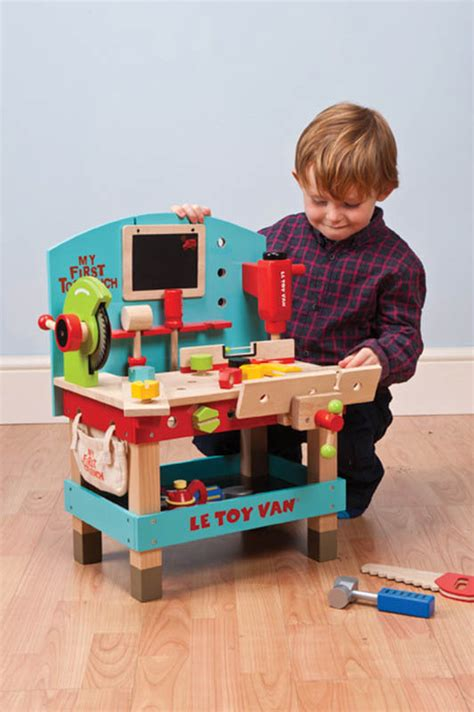 my first tool bench le toy van my first tool bench