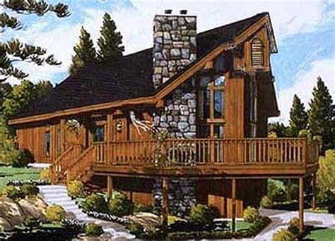 chalet cabin plans rustic chalet 99919mw architectural designs house plans