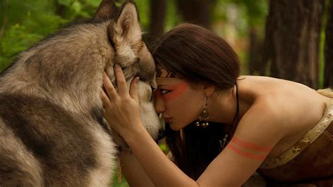 Florida Power And Light Company Wolf And Woman Conscious Companion