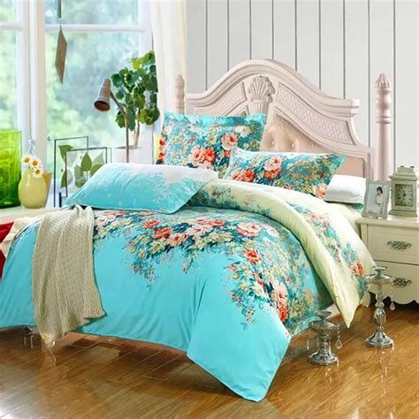 on sale 4pcs wedding bedding set cotton bedding set queen
