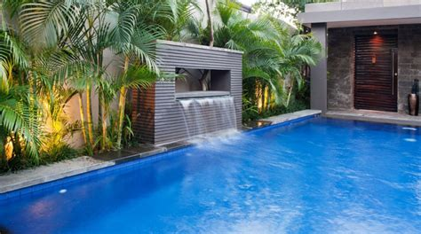 waterfalls for inground pools swimming pool designs with waterfalls www pixshark com