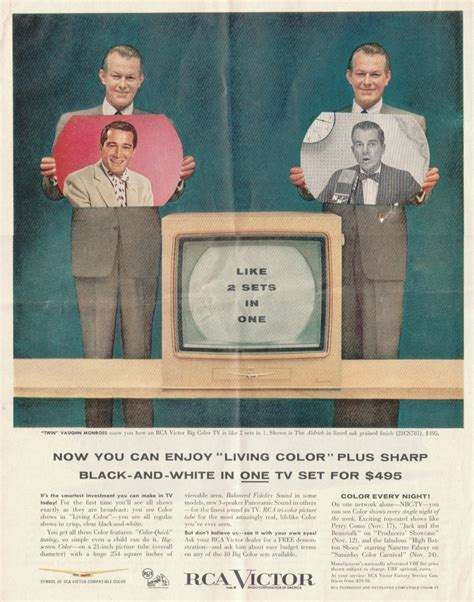 when was color tv introduced documentation rca color tv set 21 ct 7855u quot the aldrich