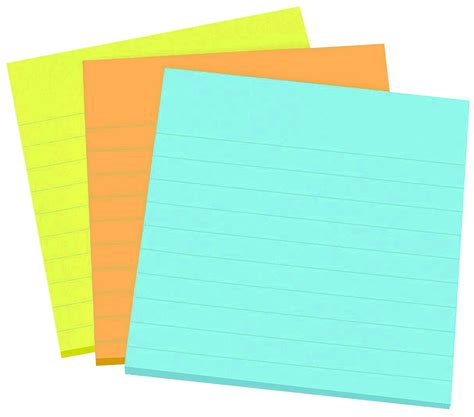 avery ultrahold sticky note pad