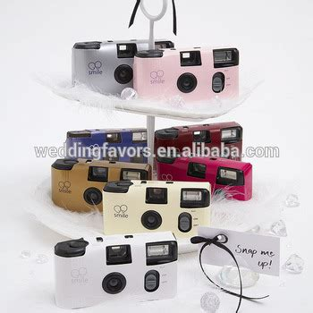 solid color disposable cameras for weddings (many colors