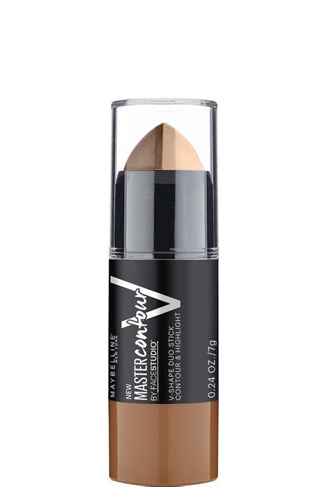 maybelline master contour v shape contouring stick the stick lighter and maybelline