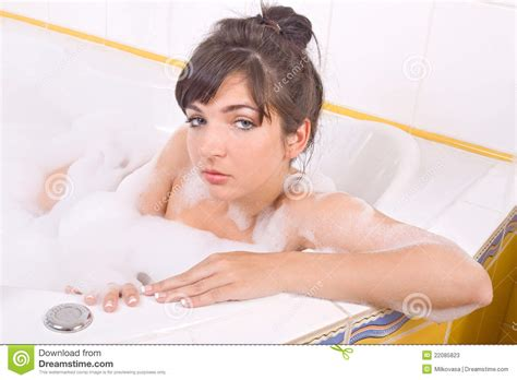 women in the bathtub woman in the bathtub stock photos image 22085823